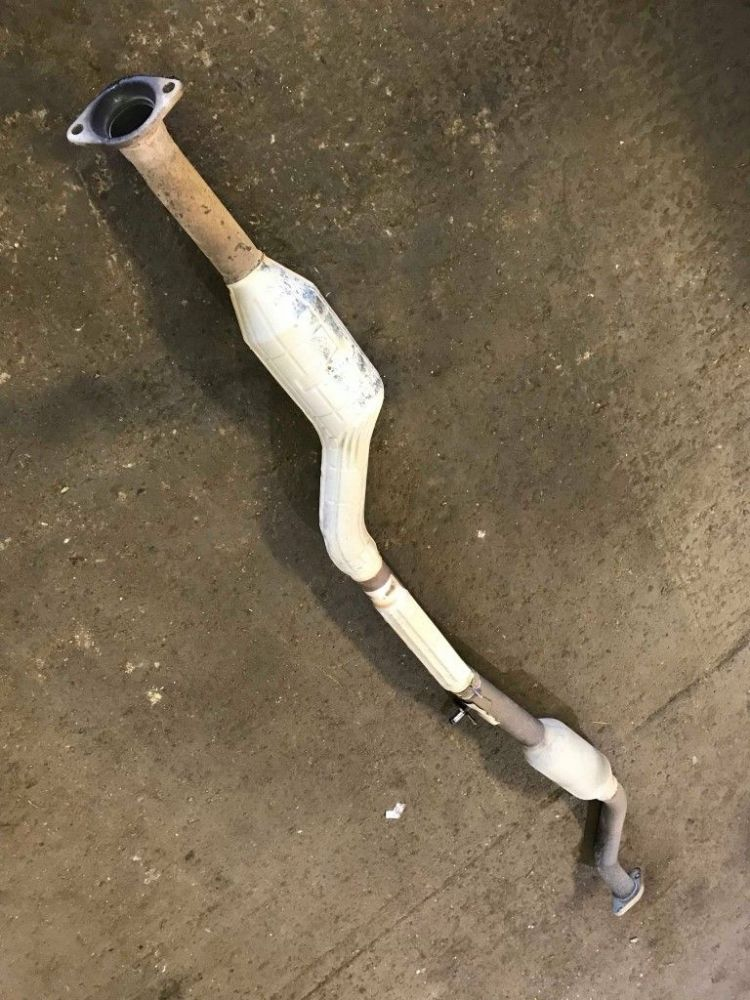 Exhaust centre section with cat, Mazda MX-5 mk3, LF542060XD, USED